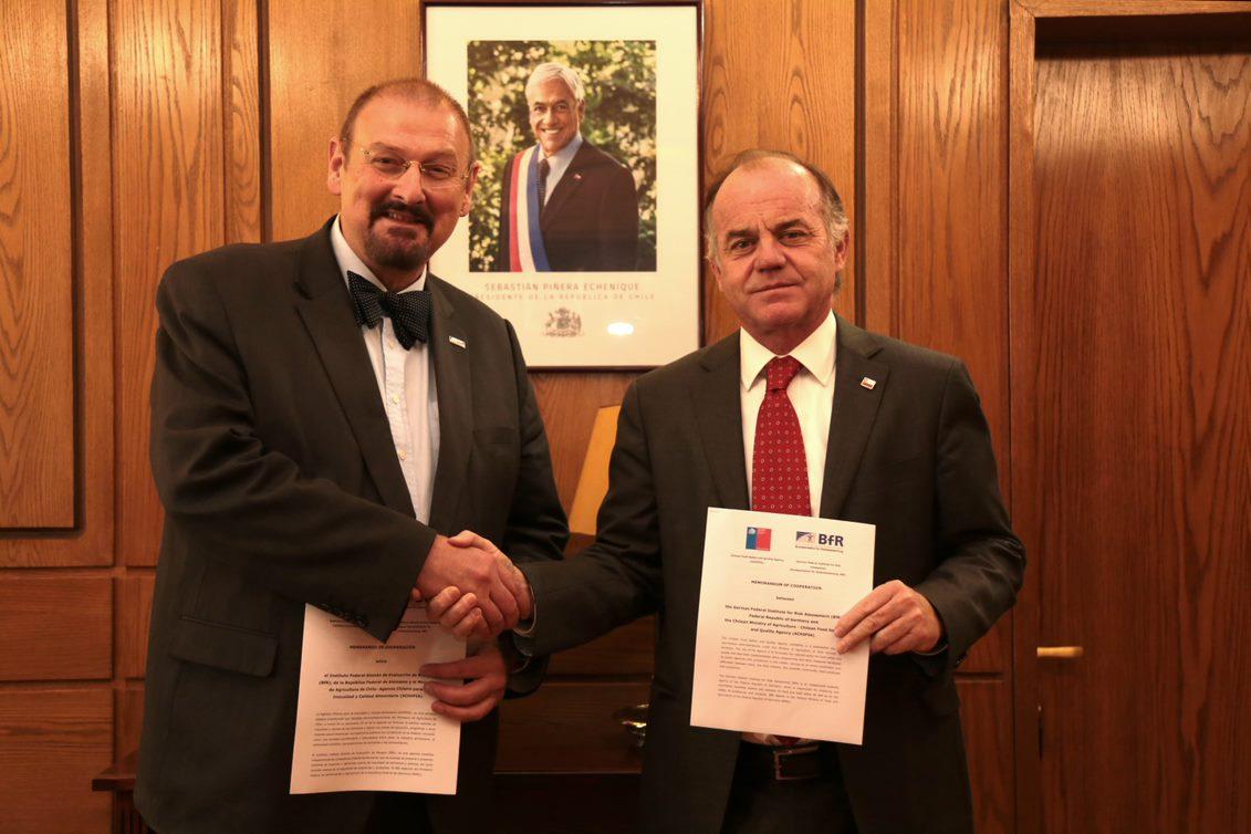 Ministro y Andreas