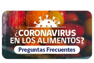 BANNER CORONAVIRUS EN LOS ALIMENTOS
